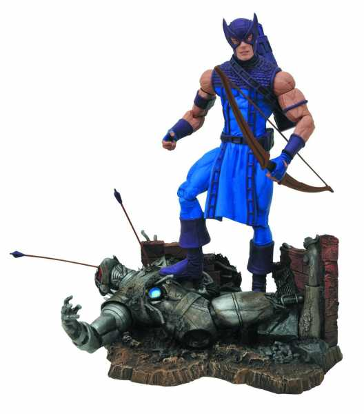 MARVEL SELECT CLASSIC HAWKEYE ACTIONFIGUR