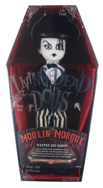 LIVING DEAD DOLLS SERIES 33 MOULIN MORGUE: MAITRE DES MORTS PUPPE