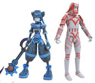 KINGDOM HEARTS SELECT SERIES 3 SPACE PARANOIDS SORA WITH SARK ACTIONFIGUR