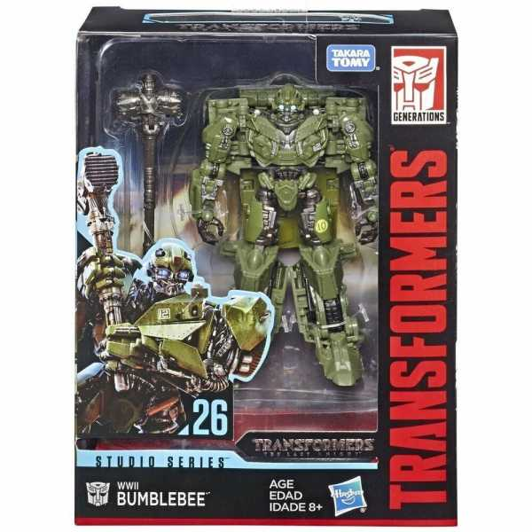 TRANSFORMERS GENERATIONS STUDIO SERIES DELUXE WWII BUMBLEBEE ACTIONFIGUR