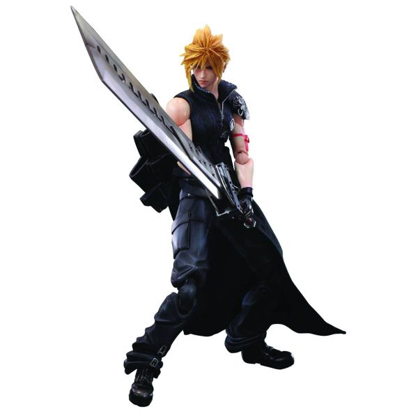 FINAL FANTASY ADVENT CHILDREN PLAY ARTS KAI CLOUD STRIFE ACTIONFIGUR