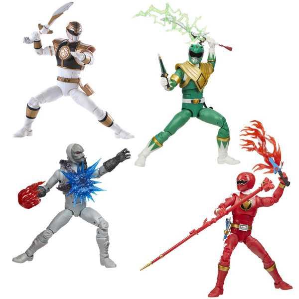 Power Rangers Lightning Collection Wave 7 6 Inch Actionfiguren Komplett-Set