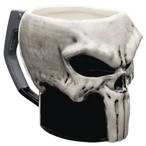 MARVEL PUNISHER CERAMIC SCULPTED MUG