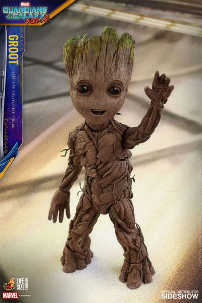 Hot Toys Guardians of the Galaxy Vol. 2 Movie Masterpiece Life-Size Groot 26 cm Actionfigur