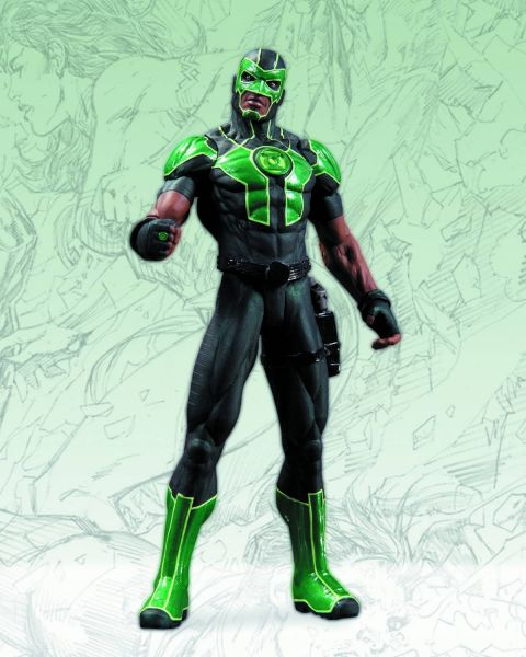 DC COMICS NEW 52 GREEN LANTERN SIMON BAZ ACTIONFIGUR