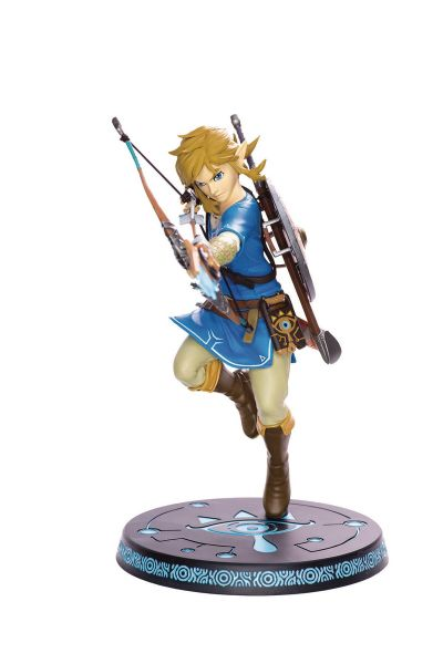 LEGEND OF ZELDA BREATH OF WILD LINK STATUE - Karton beschädigt
