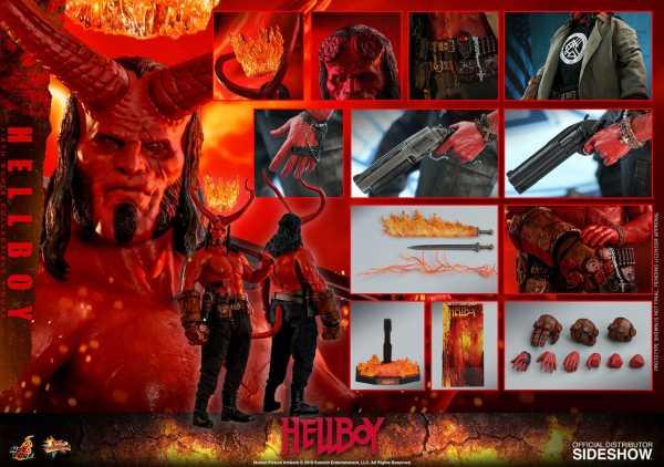 Hellboy Movie Masterpiece 1/6 Hellboy 32 cm Actionfigur