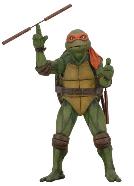 VORBESTELLUNG ! TEENAGE MUTANT NINJA TURTLES MICHELANGELO 1/4 SCALE ACTIONFIGUR