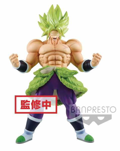 DRAGONBALL SUPER MOVIE CHOUKOKU BUYUDEN SUPER SAIYAN BROLY SUPER POWER FIGUR