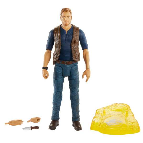 Jurassic World Owen Grady 6 Inch Scale Amber Collection Actionfigur