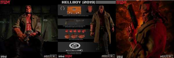 ONE-12 COLLECTIVE HELLBOY 2019 ACTIONFIGUR