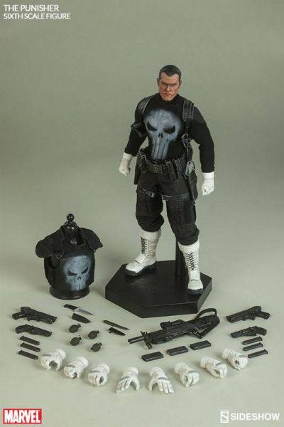 Marvel Comics Actionfigur 1/6 The Punisher 30 cm