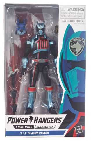 POWER RANGERS LIGHTNING S.P.D. SHADOW RANGER ACTIONFIGUR