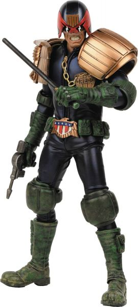 2000 AD X THREEA APOCALYPSE WAR JUDGE DREDD 1/6 SCALE ACTIONFIGUR