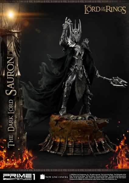 VORBESTELLUNG ! Herr der Ringe 1/4 The Dark Lord Sauron 109 cm Statue
