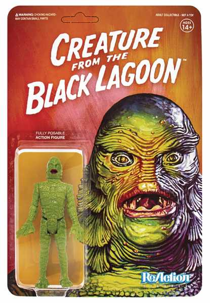 UNIVERSAL MONSTERS CREATURE FROM BLACK LAGOON REACTION ACTIONFIGUR