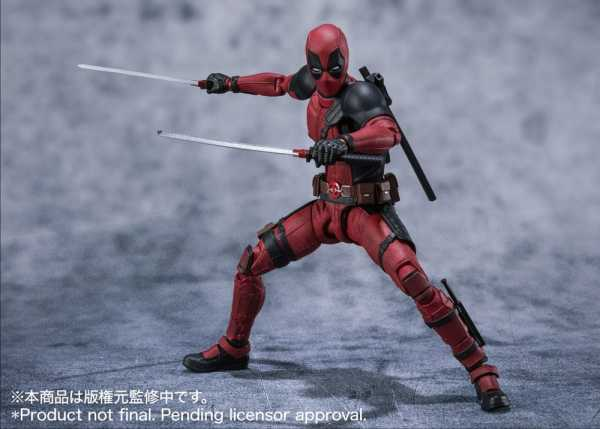VORBESTELLUNG ! Marvel S.H. Figuarts Deadpool 16 cm Actionfigur