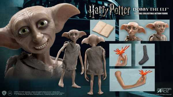 HARRY POTTER THE CHAMBER OF SECRETS DOBBY 1/8 COLLECTIBLE ACTIONFIGUR