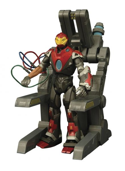 MARVEL SELECT ULTIMATE IRON MAN ACTIONFIGUR