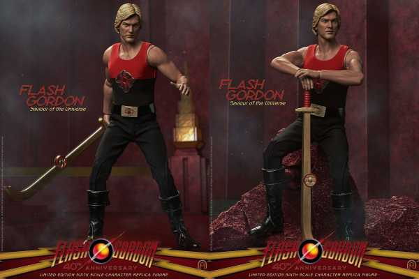 VORBESTELLUNG ! Flash Gordon 1/6 Flash Gordon Limited Edition 31 cm Actionfigur
