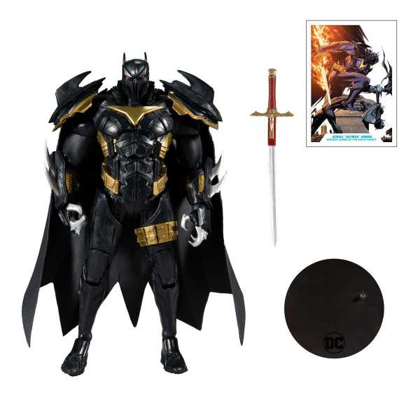 VORBESTELLUNG ! DC Multiverse Wave 3 White Knight Azbat 7 Inch Actionfigur