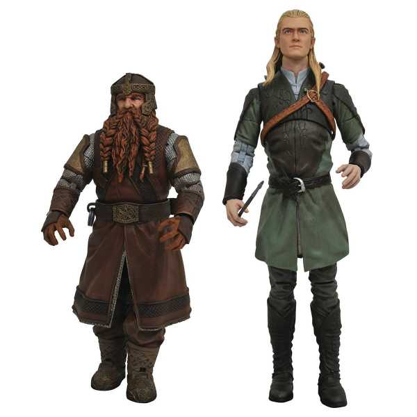 Lord of the Rings Select Series 1 Actionfiguren Set