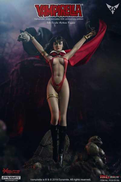 VORBESTELLUNG ! Vampirella 1/6 Vampirella by J. Gonzalez 50th Anniversary Edition 30 cm Actionfigur
