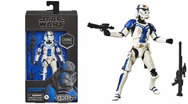 Star Wars Black Series Gaming Greats The Force Unleashed Stormtrooper Commander Actionfigur Excl.