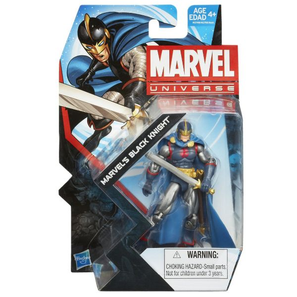 MARVEL UNIVERSE BLACK KNIGHT 10cm ACTIONFIGUR