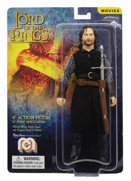 AUF ANFRAGE ! Herr der Ringe Aragorn 20 cm Actionfigur