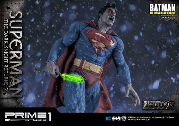 VORBESTELLUNG ! Batman: The Dark Knight Returns Statue DELUXE VERSION 1/3 Superman 88 cm