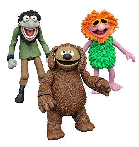MUPPETS SELECT SERIES 3 ROWLF WITH CRAZY HARRY ACTIONFIGUREN-SET