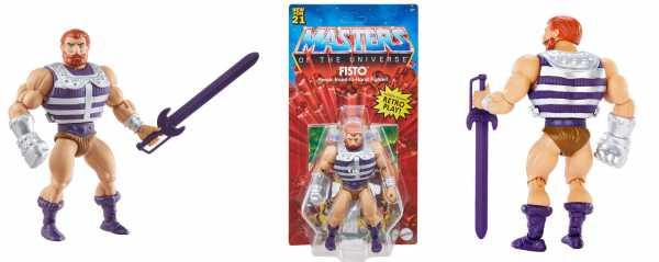 VORBESTELLUNG ! Masters of the Universe Origins Fisto Actionfigur