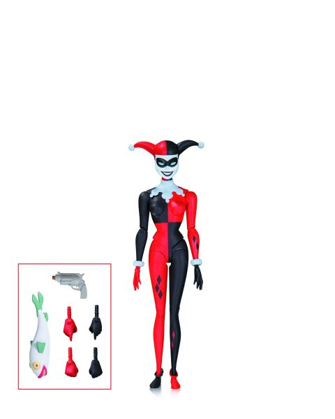 BATMAN ANIMATED SERIES HARLEY QUINN ACTIONFIGUR
