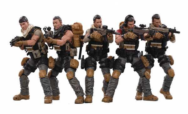 VORBESTELLUNG ! JOY TOY PLA ARMY FIELD FORCE 1/18 ACTIONFIGUREN 5-PACK