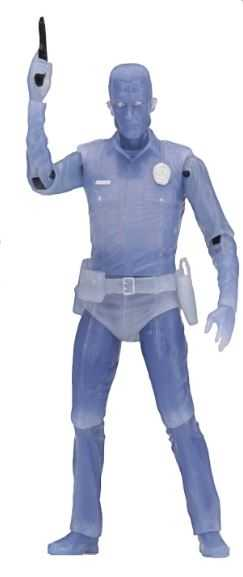 TERMINATOR KENNER TRIBUTE WHITE HOT T-1000 17,5 cm ACTIONFIGUR