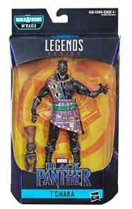 BLACK PANTHER LEGENDS SERIE 2 T'CHAKA ACTIONFIGUR ohne BAF-Teil