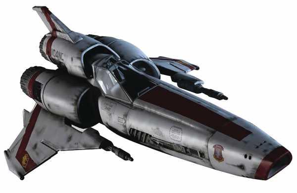 BATTLESTAR GALACTICA SHIPS MAGAZINE #1 VIPER MK II