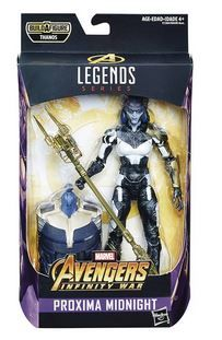 AVENGERS INFINITY WAR LEGENDS 15 cm PROXIMA MIDNIGHT ACTIONFIGUR