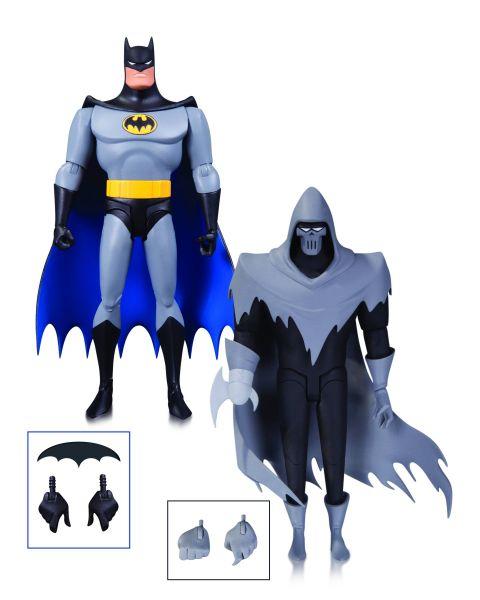 BATMAN ANIMATED SERIES MASK OF THE PHANTASM ACTIONFIGUREN-SET