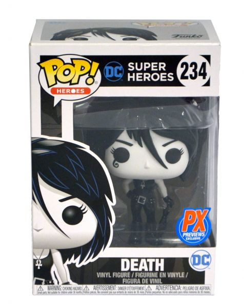 POP HEROES DC DEATH PX VINYL FIGUR