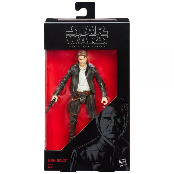Star Wars Black Series Han Solo Actionfigur