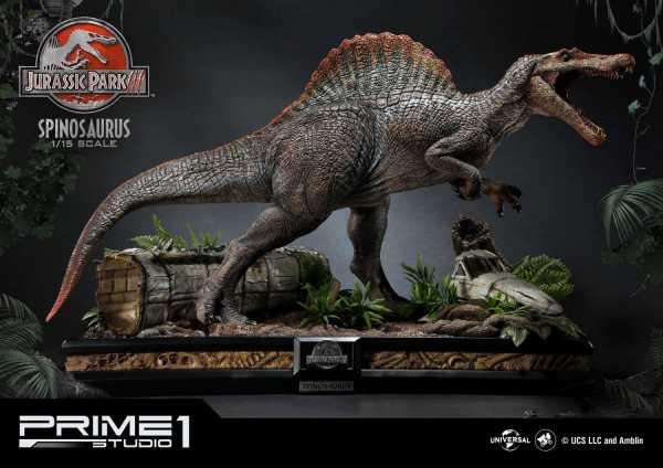 VORBESTELLUNG ! Jurassic Park 3 1/15 Spinosaurus 79 cm Statue Bonus Version