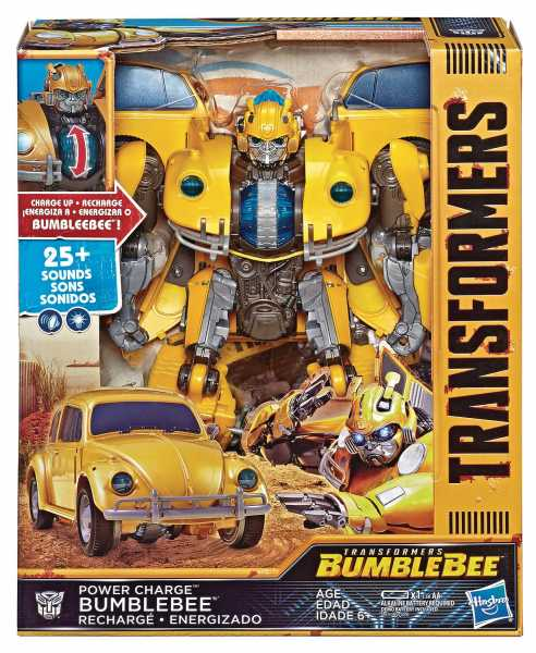 TRANSFORMERS BUMBLEBEE POWER CHARGE BUMBLEBEE ACTIONFIGUR