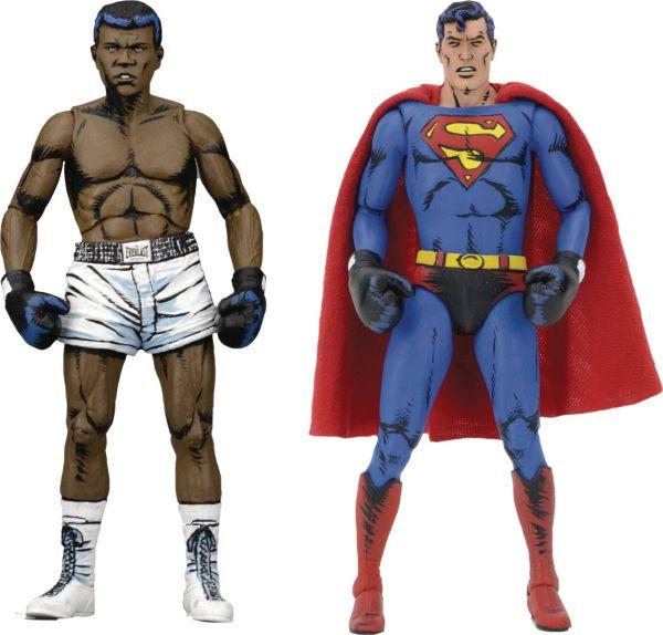 SUPERMAN VS MUHAMMAD ALI 17,5cm ACTIONFIGUREN 2-PACK