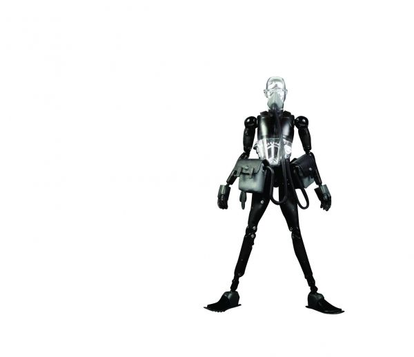 3A STRING DIVER SD11 TED DARK VERSION 1/12 ACTIONFIGUR