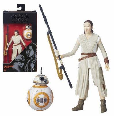 Star Wars Black Series Rey(Jakku) & BB-8 Actionfigur