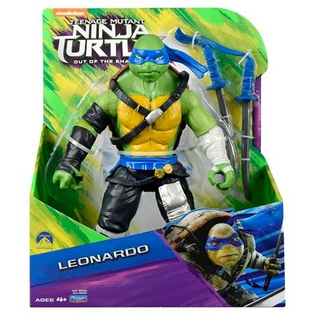 TEENAGE MUTANT NINJA TURTLES MOVIE 2 27,5cm LEONARDO ACTIONFIGUR