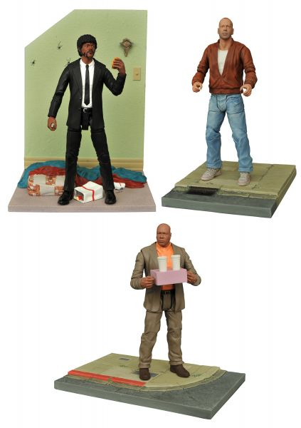 PULP FICTION SELECT SERIES 1 MARSELLUS, JULES, BUTCH SET