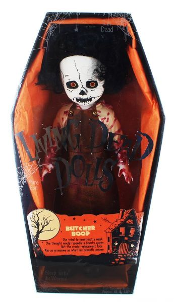 LIVING DEAD DOLLS SERIES 32 BUTCHER BOOP PUPPE